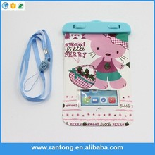 Factory supply OEM design fashion pvc dry phone case with good price