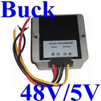 dc-dc step down converters 48v to 5v 15A voltage regulator for Car,LED,Generator,etc