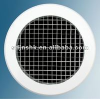 Round egg crate grille /air diffuser for ventilation