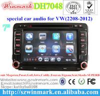 2din 7 inche HD car media for 2008-2012 VW Magotan DH7048