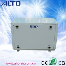 Ground to water heat pump for apartment blocks China(5.9~105.3kw,galvanized cabinet)