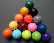 custom colorful large plastic golf ball with golf box
