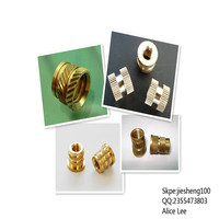 JeSun nonstandard and high quality brass threaded round nuts+86 13537382696