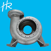 Water Pump Body Wear Resistant Steel Resin Sand Casting For Auto Spare Parts