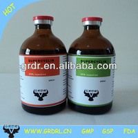 veterinary injectable antibiotic 100ml 10% oxytetracyclin hcl