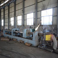 carbon steel pipe sheet metal elbow making machine