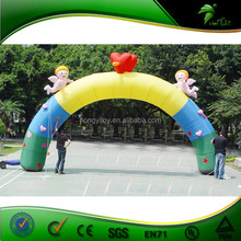 Sweet Inflatable Wedding Arch With Baby Angel