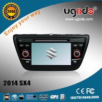 ugode 2014 Suzuki SX4 car dvd vcd cd mp3 mp4 player