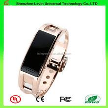 D8 Android 180mah USB Charging Multi functions Sleep Monitor Sports Metal Bluetooth Bracelet