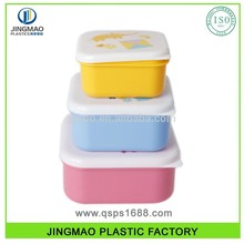 3PCS small food container Set christmas cookies plastic food container