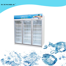 upright two door flower cooler