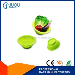 silicone basket , silicone fruit bowl ,silicone vegetable bowl