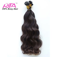 Factory Price Nano Ring Tip Cheap Fusion Hair Extension 100% Hot New Products for 2015