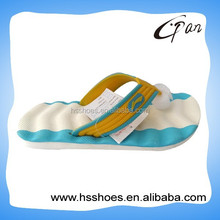 2015 men new design beach PVC slipper