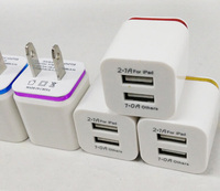 wall charger dual port for mobile phones 2.1A micro usb wall charger 2 usb