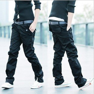 mens black pants fashion - Pi Pants