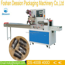 Chinese horizontal flow sewing thread cone packing machine (pack in bags) DS-400D