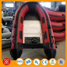 CE Certification Popular inflatable fishing boat for adults military inflatable boat
