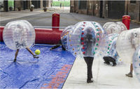 crazy bubble football , hot sale bumper ball, inflatable ball M7005