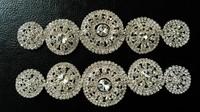 cystal rhinestone applique for wedding dress garment rhinestone patches