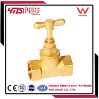 Brass stop valve for south africa