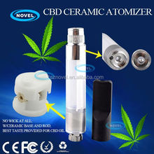 Easy to fill and easy to use 510 bud touch vape pen bud ceramic cartridge gravity e cigarette evolution