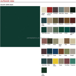 10SM vinyl leather fabric for outdoor furniture china