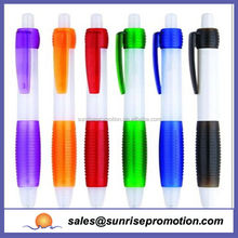 colorful cheap price free sample cool plastic ball pen