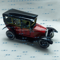 old toy car models / metal craft / wind up tin toy / car