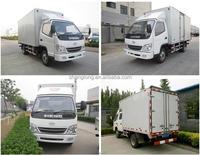 1 Ton Light Diesel Cargo Box Truck Van Truck