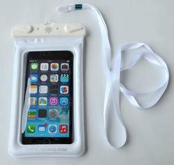 Fashion waterproof phone 6 plus pouch--- swiming diving floating beach gift bag