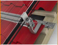 Home and commercial roof solar mounting brackets,solar panel mounting