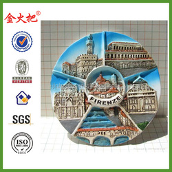 High Quality Resin Fridge Magnets Souvenir&3D Fridge Magnet