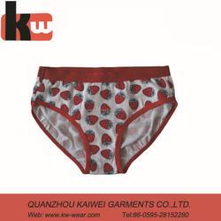 Latest Design Fruit Print Hot Girls Panty Photos