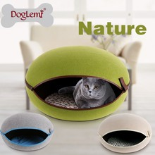 Trade Assurance Doglemi Pet Products Luxury Pet Heating and Cooling Bed Soft Pet Cat Bed
