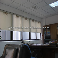 Office automation roller blinds