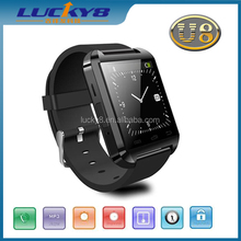 2015 MTK6260 long battery life mult-touch sync bluetooth dial looking phone smart watch to buy