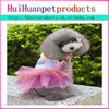 soft material and comfortable dog's wedding dress dog clothes