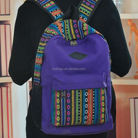 Canvas Ancient Backpack New Pattern Bags 2015
