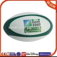 2015 Promotional Item cheap Round PU Stress ball,rugby stress ball
