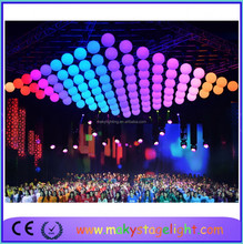 good sale new products Remote Control Disco Mirror Ball LED Lifting Ball Show/ DISCO /Theater/ Concer
