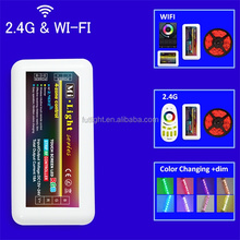 wireless color changed full touch led controller wifi solar controller m-7
