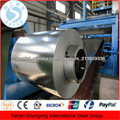 bobina de acero galvanizado, chapa de acero galvanizado en la bobina