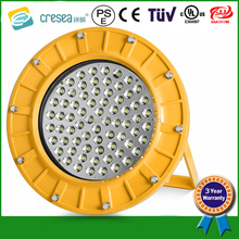 EX CE Atex TUV approved explosion proof type 30w-100w led anti explosion light