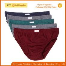100% cotton man basic briefs underwears male panties for man sexy