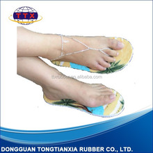 top less slipper blank sandals sandals shoes with straps summer sandals fashion raw material to manufacture slippers