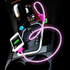 CAR Data Line Flashing Universal USB Flash Charging Line For IPhone 4 4S 5 Samsung Galaxy S3 S4 IPod And Other Android Phones
