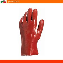 Lengthen PVC Gloves Industrial Safety Gloves Cotton Cloth Glove Core Coating rubber