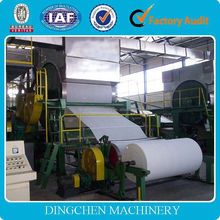 787mm single dryer can single cylinder mould second hand toilet paper making machine