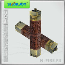 Smokjoy Newest Updated Wooden Product N Fire Twist Battery Electronic Battery Vaporizer Pen N Fire F4 battery